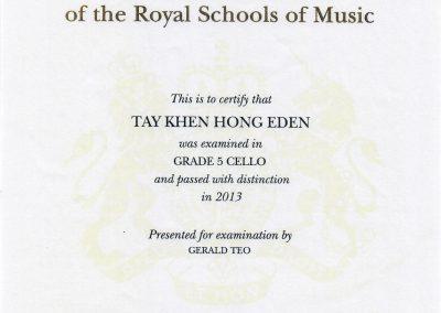 Eden_G5_2013_Certificate