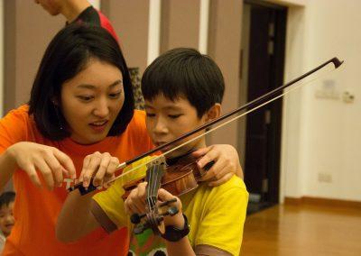 Japanese Violin Teacher in Singapore
