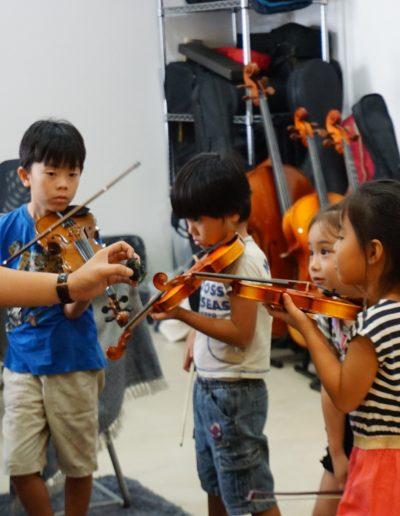 Jap Violin Students