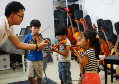 Jap Violin Students