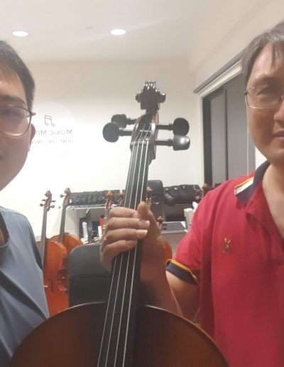 cello rental and buying music mood