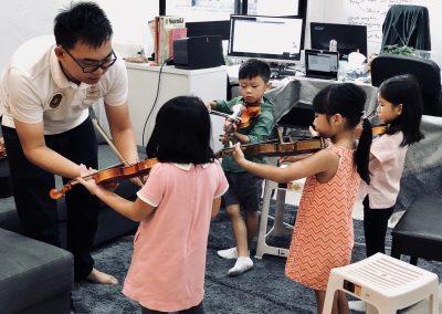 Singapore Good Violin Teacher