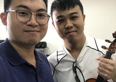 renting good violin in singapore