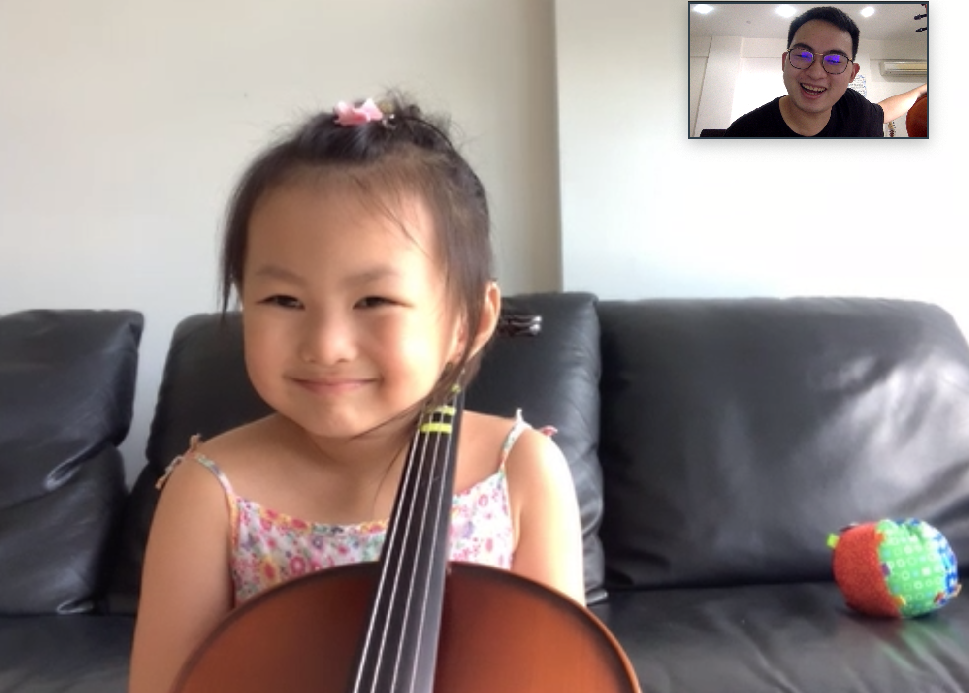 Kids in Singapore in Cello Lessons
