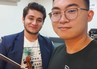 professional violin teacher in singapore