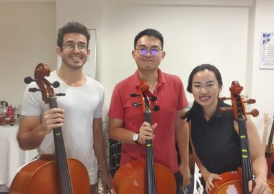 After working hours cello group