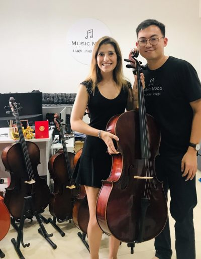 happy to rent a cello in singapore