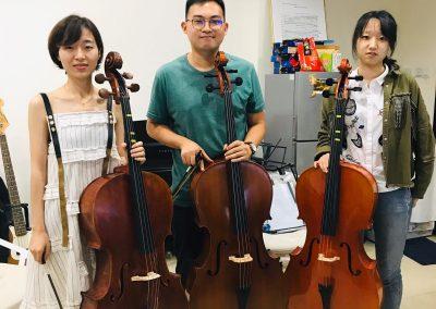 cello classes for uni students