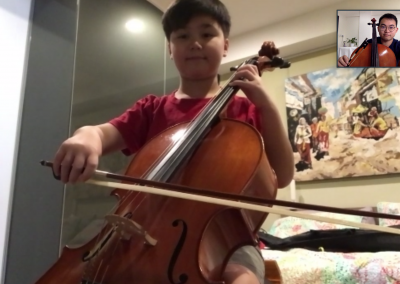 Kids Private Cello Lessons in Singapore