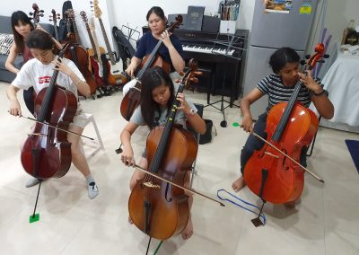 play cello together