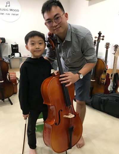 talented kids playing cello in singapore