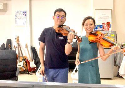 1-1 violin lessons
