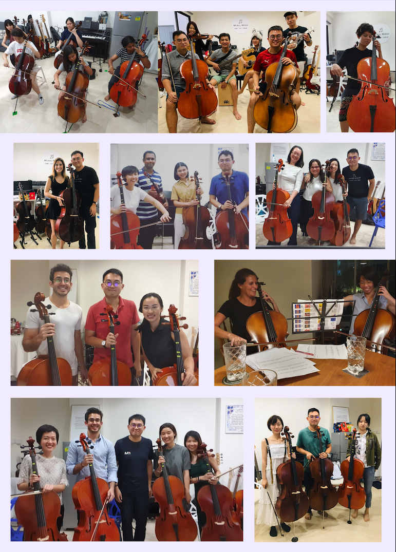 Adult Cello Lessons in Singapore