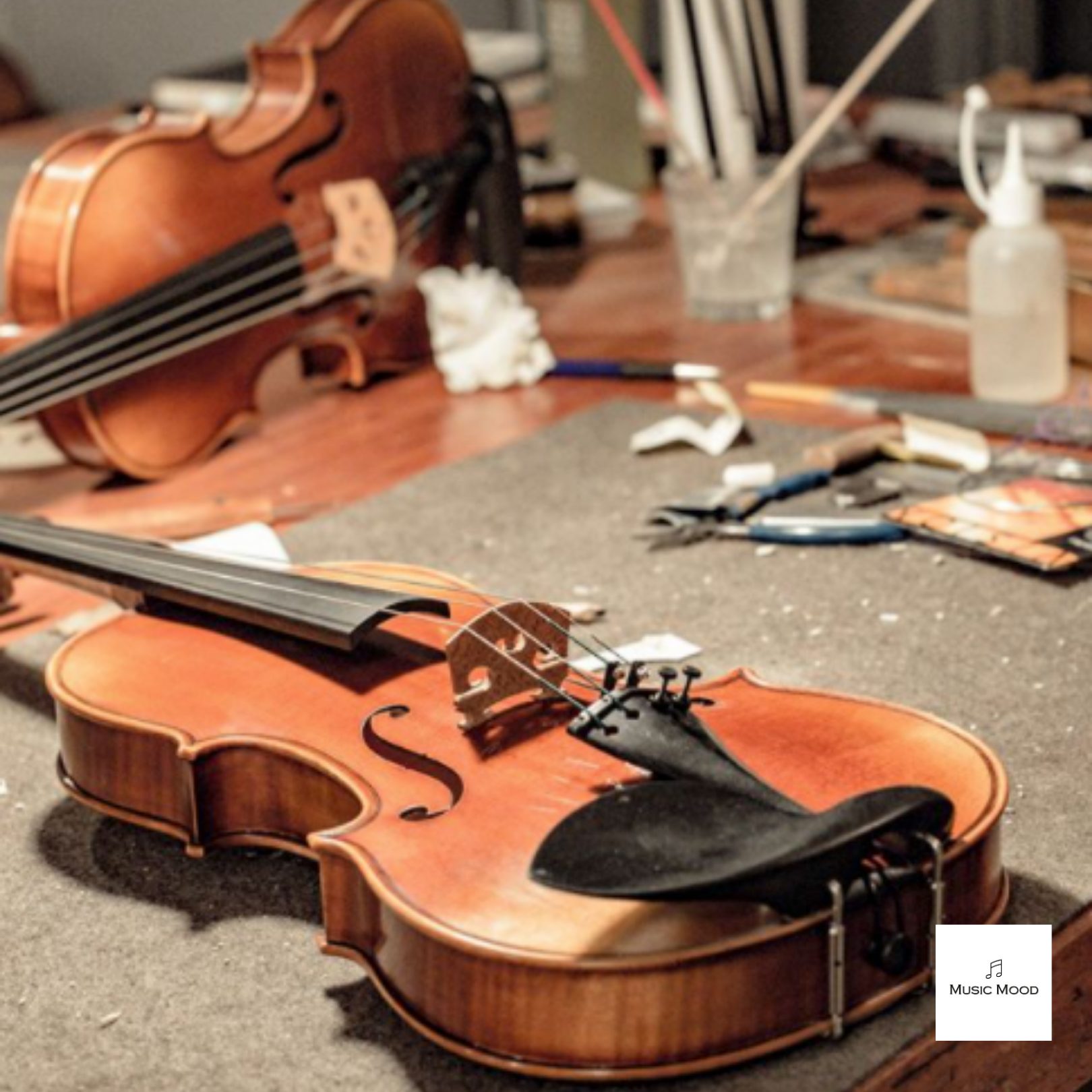 Restore your violin with Singapore Strings Luthier